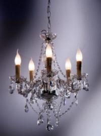 Висяща лампа Gioiello Crystal Clear 5-arms