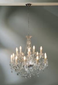 Висяща лампа Gioiello Crystal Clear 14-arms