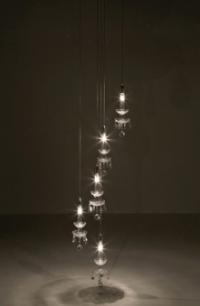 Лампа Gioiello спирала