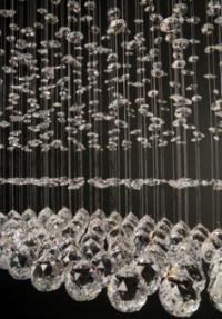 Висяща лампа Falling Diamonds