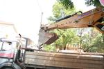 Изкопни работи с багер
