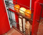 Червена кухня по поръчка 219-2616
