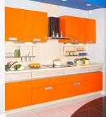 Кухненски проект в оранжево 239-2616