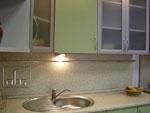 Изработване на кухни по проект в зелено 255-2616