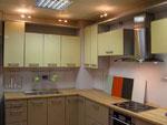 Кухня със семпъл дизайн по поръчка 269-2616