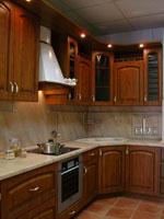 Кухня в ретро стил по поръчка 275-2616