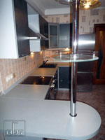 Проектиране на кухня с материали по избор на клиента  302-2616