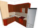 Изпълнение на 3D проекти за кухни 310-2616