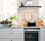 Интериорно решение за кухня в сив цвят 376-2616