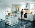 Реализация на кухненски проект в синьозелено 378-2616