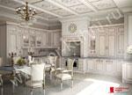 Бяла кухня по поръчка Разкош 384-2616
