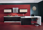 Оригинален проект за нестандартна кухня 621-2616