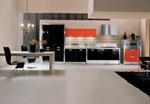 Модерно кухненско обзавеждане по поръчка 641-2616