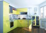 Проектиране на кухня Лимон 662-2616