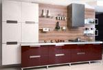 Поръчкова кухня Абанос и слонова кост 717-2616