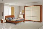 Спалня по поръчка с класическа правоъгълна табла 112-2618