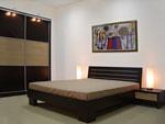 Бутикова спалня в черно и беж по поръчка 192-2618