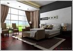 Проект за тапицирана спалня с допълнително канапе към нея 196-2618