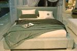 Спалня по поръчка, тапицирана с кадифе 258-2618