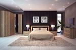 Спалня по проект от естествен фурнир