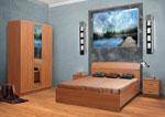Спалня с табла от три части - по поръчка 433-2618