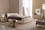Тапицирана спалня по поръчка с текстилна тапицерия Кутия за бижута