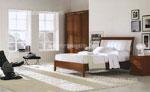 Поръчка на спалня, стил Модърн, с огъната към стената табла