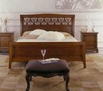 Барокови елементи, включени в модерно спално обзавеждане по поръчка