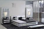 Спални черно-бели по поръчка