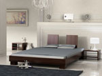 Дизайн на спалня с нестандартна форма на таблата - в две части 84-2618