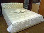 Бяла тапицирана спалня 859-2735