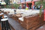 Фирма за дървени маси за заведения