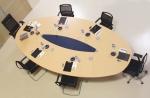 елипсовидна заседателна маса за 6 човека
