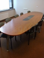 правоъгълна заседателна маса 10 места