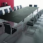 правоъгълна заседателна маса 18 места