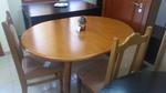 трапезни маси и столове по поръчка