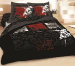 Спално бельо в черно