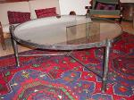 Кръгла маса от ковано желязо