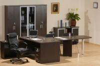 Офис в цвят венге