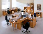 Офис обзавеждане от пдч за работна стая