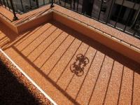 Оранжева подова настилка