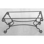дизайнерска холна маса от ковано желязо 3687-3171