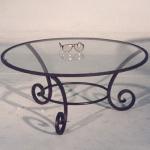 дизайнерска холна маса от ковано желязо 3739-3171