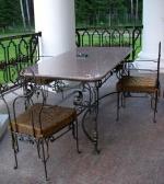 маса и столове от ковано желязо 3913-3171