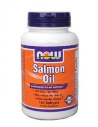 Salmon Oil (Масло от сьомга) 1000 мг - 100 дражета