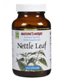 NATURES HERB Nettle Leaf 100 капсули