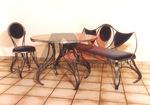 Здрави столове и маси ковано желязо