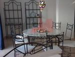 Столове и маса ковано желязо за ресторанти