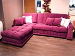 Червен диван по поръчка