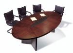 елипсовидна заседателна маса по поръчка 8 места